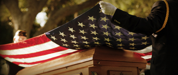 honor veterans death cermony